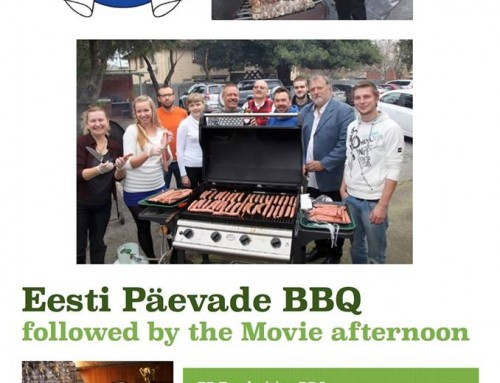 EP2016 BBQ Fundraiser & Movie Afternoon