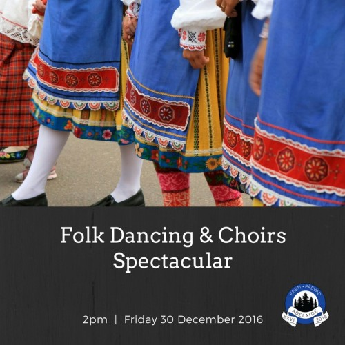 Folkdancing Choir