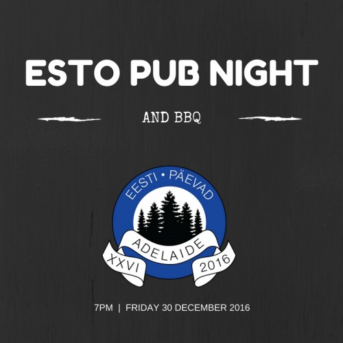 esto pub night